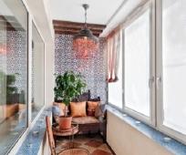 Дизайн узкого и длинного балкона