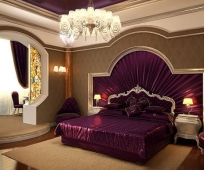 Оригинальный дизайн спальни, совмещенной с балконом