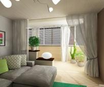 Присоединение балкона к спальне
