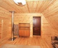Внутренняя отделка мансардного этажа деревянной вагонкой