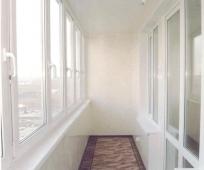 Панели ПВХ в отделке балкона