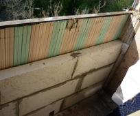 Укрепление парапета бетонными блоками