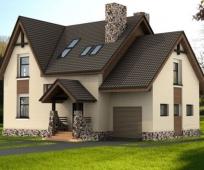 Проектирование мансарды с окнами для загородного дома
