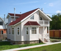 Проект мансарды с балконом для частного дома