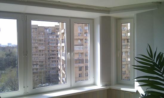 Окна пвх на балконе