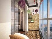 Обустройство балкона с панорамным остеклением