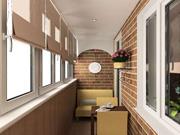 Дизайн закрытого балкона
