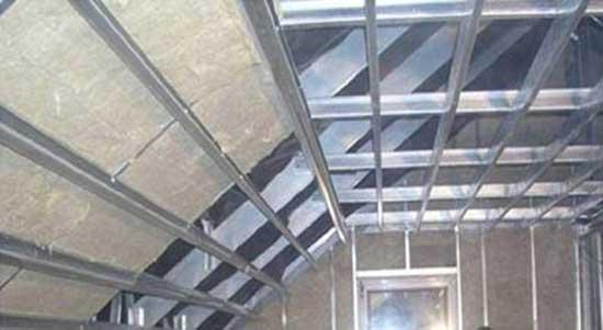 Металлическая стропильная система мансардной крыши