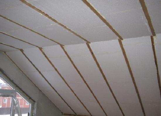 Утепленная крыша мансарды пенопластом
