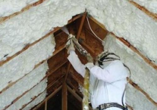 Утепление крыши мансарды эковатой