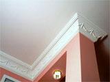 Декоративный плинтус для матового натяжного потолка