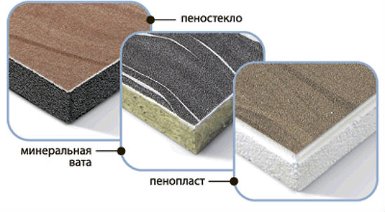Виды используемого для утепления мансарды материала